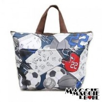 New Insulated Tote Bag | Cool Bag | Cooler Lunch Box Bag  - Multiple Designs[5 soccer]